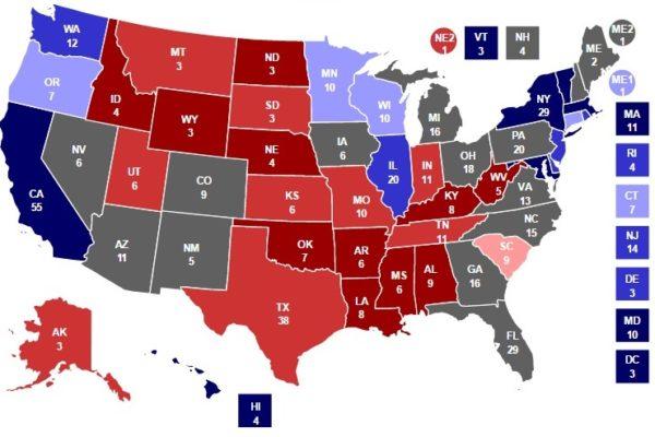 прогноз голосования