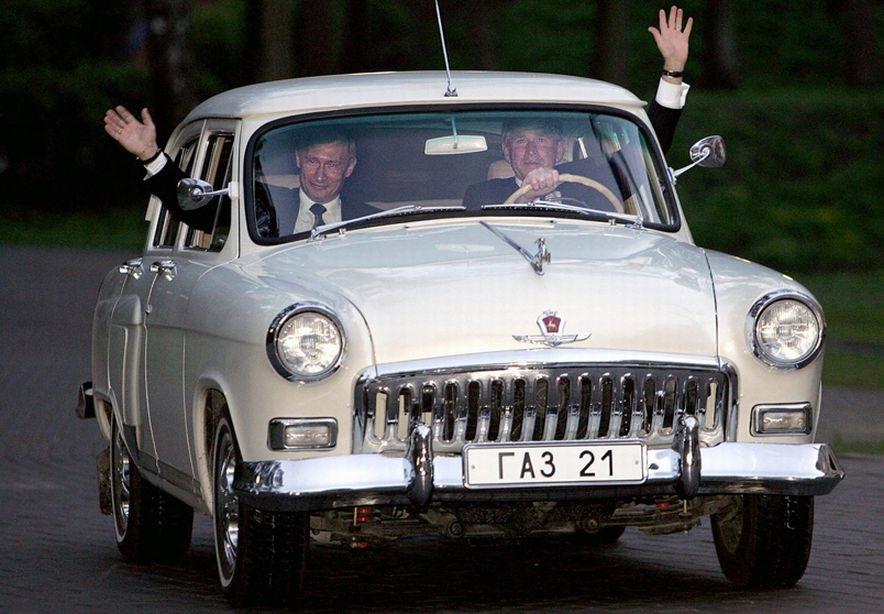 машина Путина