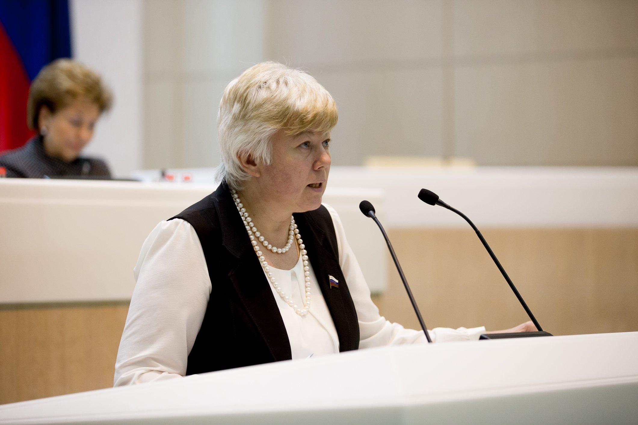 Сенатор Тимофеева