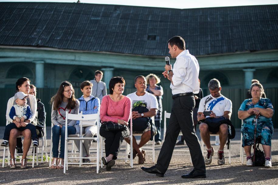 Встреча с избирателями