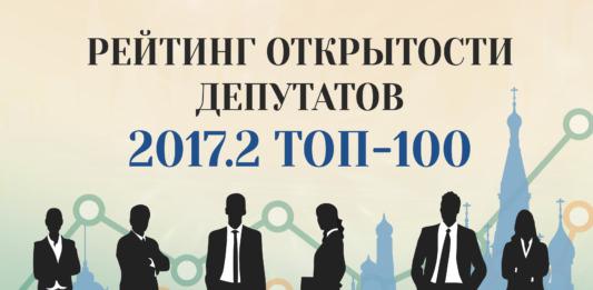 Рейтинг открытости депутатов